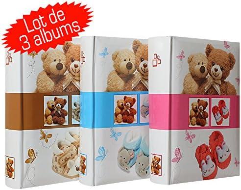 disponibile anche in rosa dimensioni: 18.30/X 18.30/cm pagine illustrate Album Fotografico Bambino Nursery Room Rosa per 24/foto a tasche 10/x 15/cm spazio per scrivere i commenti