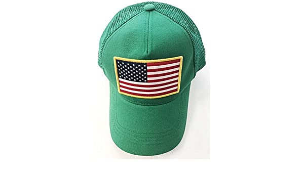 f948aa6ceb8f48 Shepgear - Kelly Green Usa Trucker Hat - Mens: Amazon.ca: Clothing &  Accessories