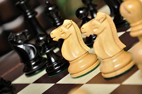 (The Reykjavik II Series Chess Set, Box, Board Combination )
