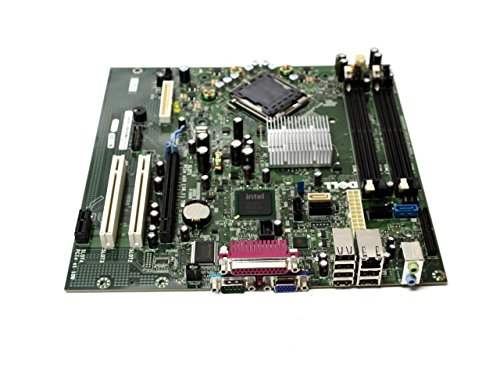 New Genuine OEM DELL Optiplex 755 Motherboard SMT Desktop Mini Small Tower Y255C Intel GM819 JR271 Logic Main System Board Assembly Intel Celeron Core 2 Duo ()