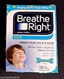 Breathe Right Kids Nasal Strips - Pack of 6 - Total of 60 Strips - Sealed Manufacturer Case Pack