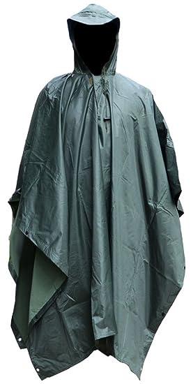 Pluie À Mochoose Camouflage Manteau Imperméable Veste Poncho De nU7vUPA