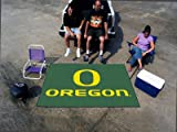 Fan Mats 2364 UO - University of Oregon Ducks 60'' x 96'' Ulti-Mat Area Rug / Mat