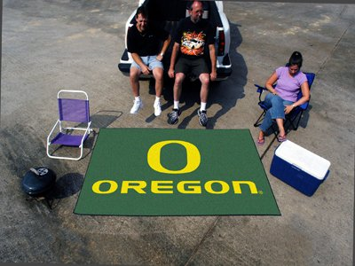 Fan Mats 2364 UO - University of Oregon Ducks 60'' x 96'' Ulti-Mat Area Rug / Mat by Fanmats