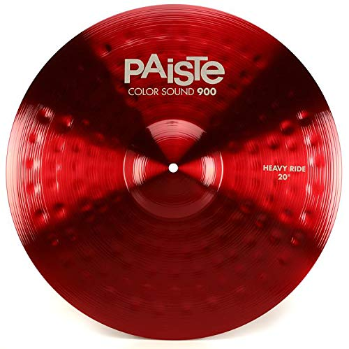 Paiste Color Sound 900 Heavy Ride Cymbal - 20'' Red