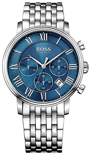 Hugo Boss Blue Mens Watch Classic Elevated Classic Chronograph 1513324