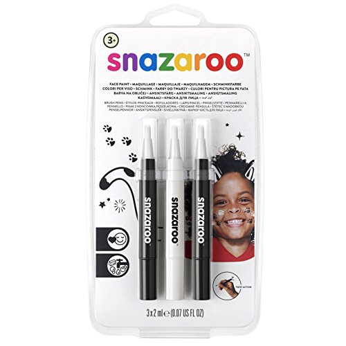 Snazaroo Face Paint Brush Pen, Monochrome
