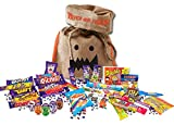 British Halloween Trick Or Treat Candy Bag | 5 Cadbury Goo Heads Halloween Creme Eggs, 15 Cadbury's chocolate bars & 8.8 oz English Retro Candy Mix Assortment Cadbury Variety