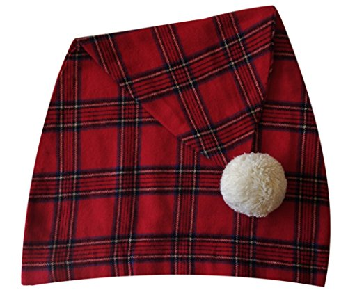 - Lee Valley, Ireland - Men's Night Cap (Red Tartan)