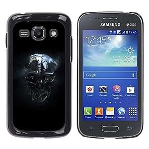 TECHCASE**Cubierta de la caja de protección la piel dura para el ** Samsung Galaxy Ace 3 GT-S7270 GT-S7275 GT-S7272 ** Skull Mask Head Portrait Robot Ai Future