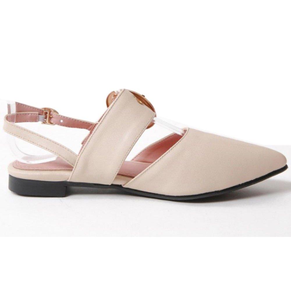 RizaBina Women Flats Sandal Shoes Slingback
