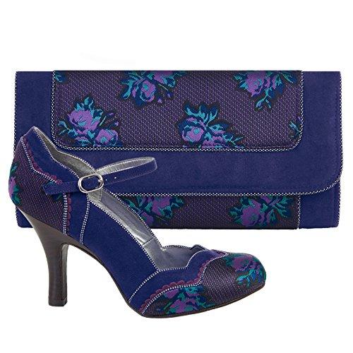 Femme Shoo Bleu Ruby Blue Imogen Chaussures EPqqg