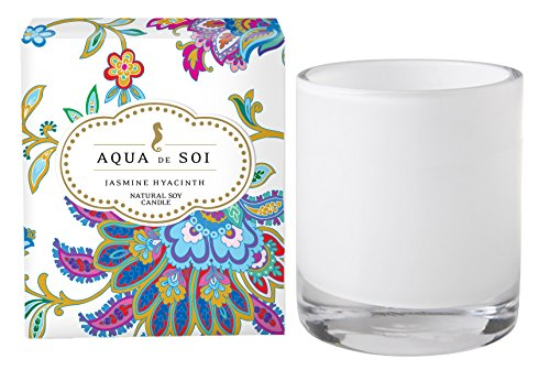 SOI Company The Aqua de SOi 100% Premium Natural Soy Candle, 11 Ounces Boxed Jar (Jasmine Hyacinth) by SOI Company