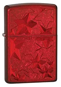 Zippo Candy Apple Red Ice Stars Pocket Lighter
