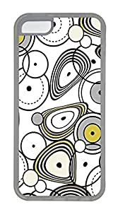 LJF phone case iphone 4/4s Cases - Wholesale Summer Cool TPU Transparent Cases Personalized Design The Circle Ellipse