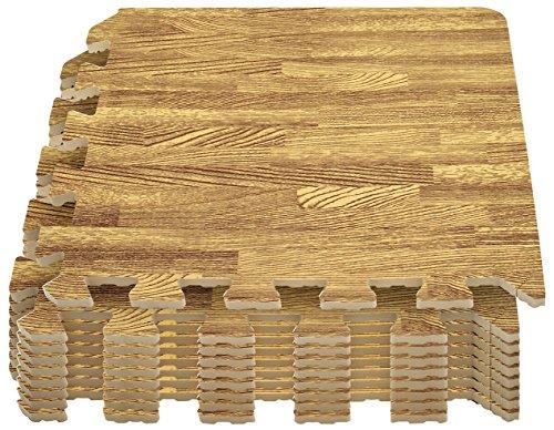 Sorbus 8 Inch Interlocking Flooring Borders