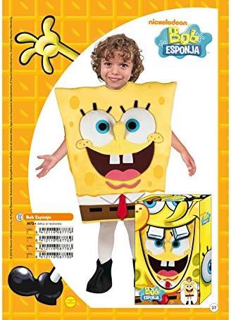 Disfraz de Bob Esponja en caja regalo 7-9 años: Amazon.es ...