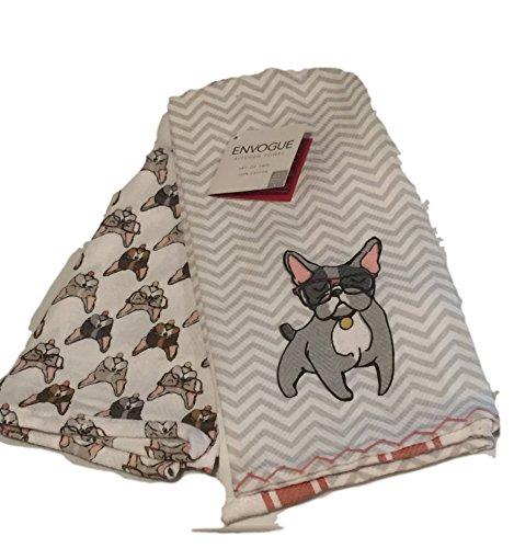 french bulldog kitchen towel - 1