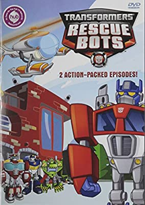 Transformers Rescue Bots: 2 Action-packed Episodes