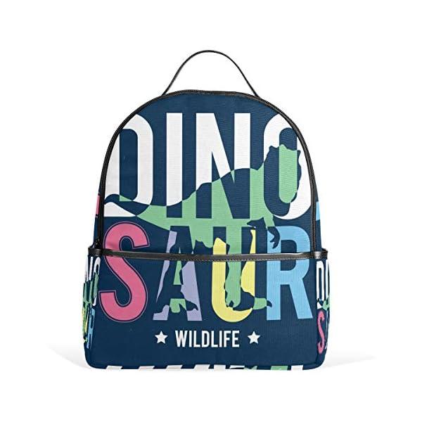 Dinosauro blu navy zaino per donne adolescenti ragazze borsa alla moda borsa libreria bambini viaggio università casual… 2 spesavip