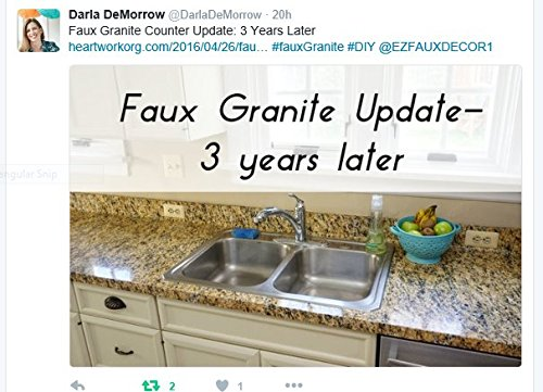 faux granite instantly update venecia