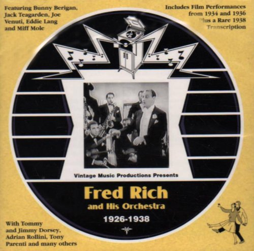 Fred In stock Rich and His Orchestra 1938 - 1926 Spring new work