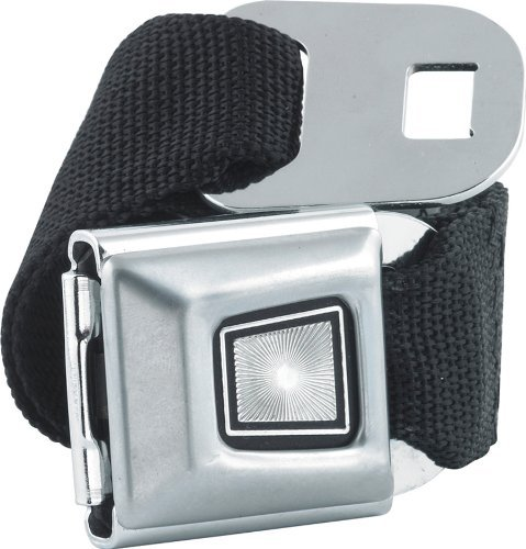(Ford Starburst Seatbelt Belt SBB Strap Color: Black, One Size Fits Most)