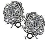 Valor Fitness LC-53 Steel Weightlifting Chains for...