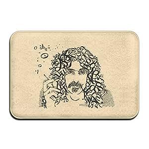 Frank Zappa American músico guitarra Bienvenido Mat Felpudo al aire libre vestido