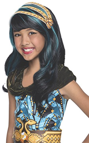 Cleo De Nile Costume Accessories (Rubies Monster High Cleo de Nile Child Costume Wig)