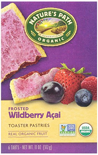 Pastries Breakfast - Nature's Path, Organic Frosted Acai Toaster Pastry, 11 oz