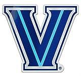 #2: Villanova Wildcats Auto Badge Decal, hard thin acrylic, 3.5 x 4 inches