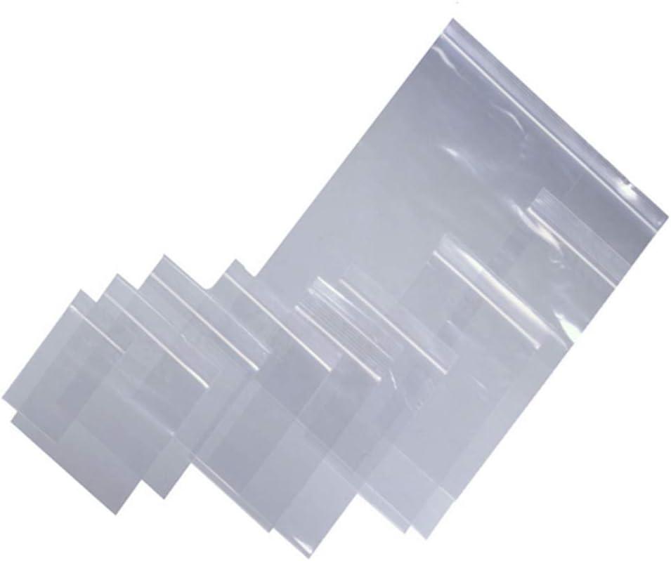 100 Grip Seal Bags 4 x 5.5 Inch 200g Strong Reusable Zip Lock