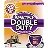Arm & Hammer Platinum Double Duty Clumping Litter, 37lb