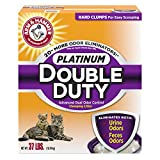 Best Arm & Hammer Of Kitties - Arm & Hammer Double Duty Platinum Litter, 37 Review
