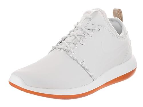 Nike Men's Roshe Two Leather Prm Off White/Off White White Running Shoe 12  Men US: Amazon.co.uk: Shoes & Bags