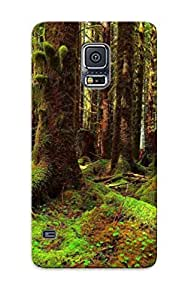 Perfect Fit WkCWzmU4916BwaKQ Mossy Forest Case For Galaxy S5 With Appearance by lolosakes
