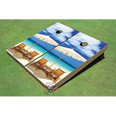 Wonderful Beach Custom Cornhole Boards