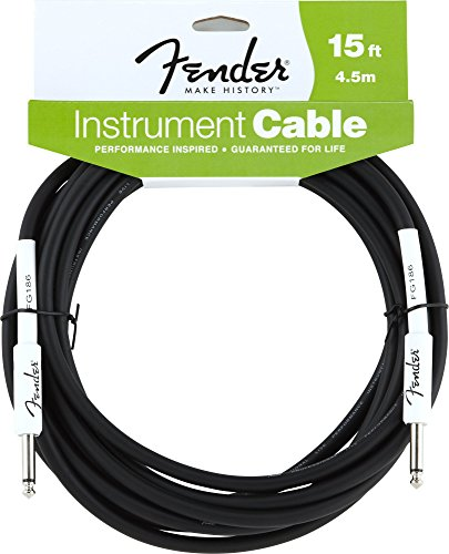Price comparison product image Fender Performance Series Instrument Cables (Straight-Straight Angle) for electric guitar,  bass guitar,  electric mandolin,  pro audio