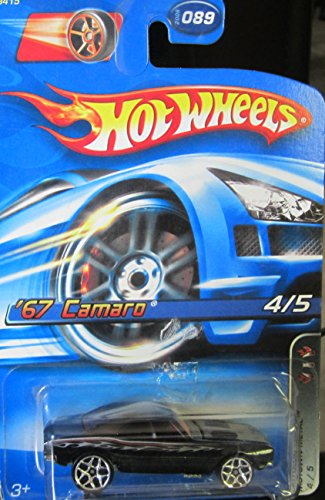 2006 Hot Wheels Motown Metal Faster Than Ever Black '67 Camaro 4 of 5 by Hot Wheels