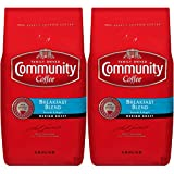 Community Coffee Breakfast Blend Medium Roast Premium Ground 32 Oz Bag (2 Pack), Medium Full Body Smooth Bright Taste, 100% Select Arabica Coffee Beans