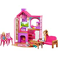Barbie Camping Fun Cabin Set
