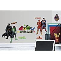 RoomMates RMK2138SCS Justice League Peel and Stick Wall...