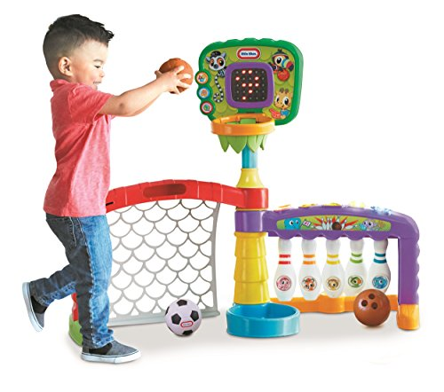 Little Tikes 3-in-1 Sports Zone Baby Infant Toy JungleDealsBlog.com