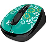 Microsoft 3500 Limited Edition Artist Series Wireless Mobile Mouse, Oh Joy (GMF-00323)