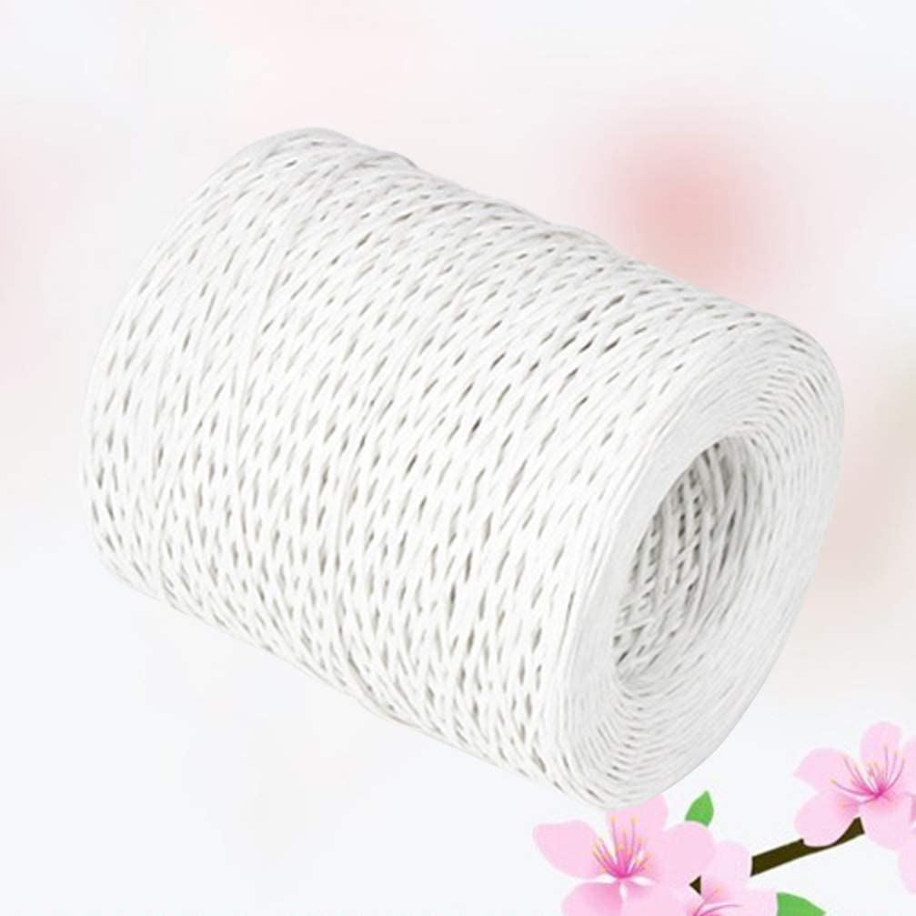 Healifty Floral Wire Paper Wrapped Wire 210M Wedding Bouquet Packaging Festival Christmas Flower Packing Floral Arrangement Tools Black
