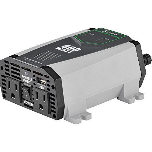 Cobra CPI490/CPI 490/CPI 490 Compact 400 Watt Power Inverter - Recertified ()