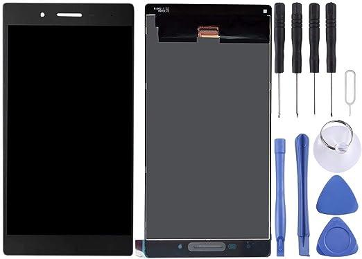 CQU レノボタブ4 / TB-7304X / TB-7304Fスマートフォン用の携帯電話の交換黒いLCDスクリーンディスプレイデジタイザ完全なアセンブリ (色 : Black)