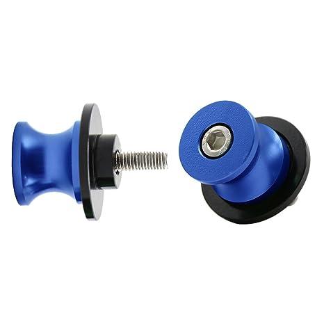 2pcs M6*1,5 Nottolini Assen Swingarm Spool Screw per Yamaha MT01 MT03 MT09 MT10 YZF R1 R3 R6 R25 R125 R1000 R6S FZ1 FZ6 FZ8 FZS1000 FZS600 Aprilia RSV4 R Tuono V4 R Dorsoduro Oro