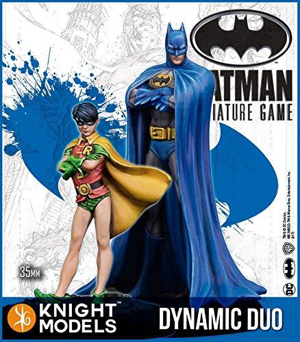 (Knight Models Batman Miniature Game Dynamic Duo Batman & Robin (2nd Edition) (Resin))
